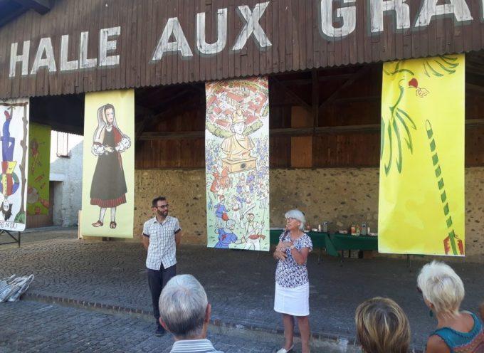 Annie Laporte à l'honneur à Martres-Tolosane