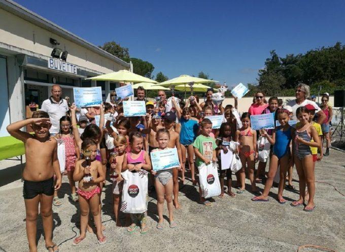 Cazères : Carton plein pour le challenge de natation !