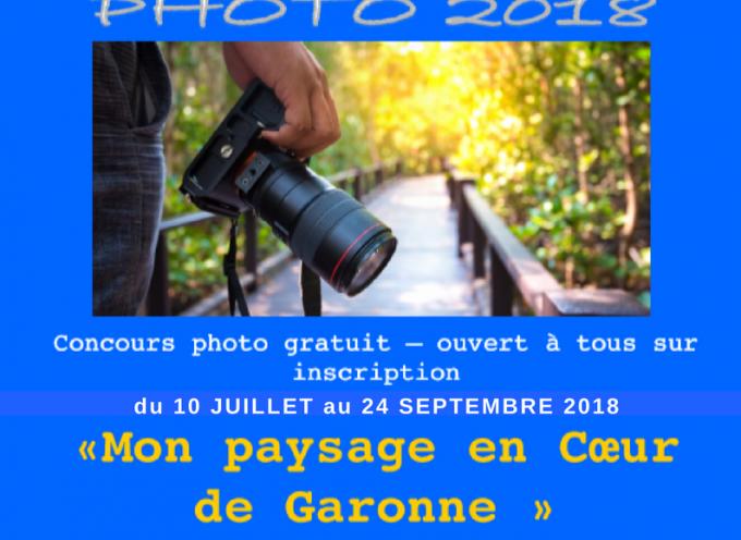 """Le concours photo """"Mon Paysage en Coeur de Garonne"""" prolongé"""