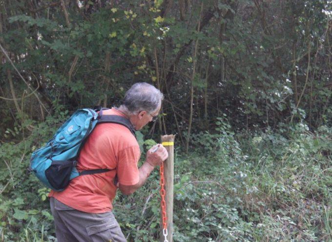 Saint-Gaudens : Gilbert Boué baliseur de chemins de randonnée