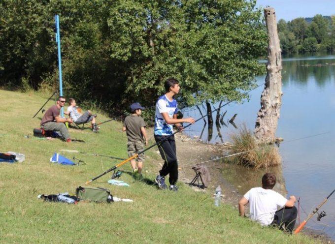 Pêche à la truite au lac de Sède