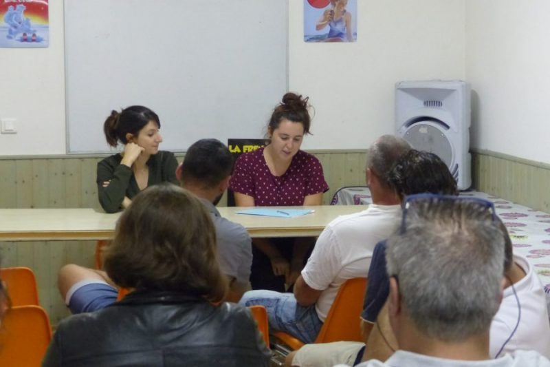 Adeline Joqueviel présente le bilan de son mandat