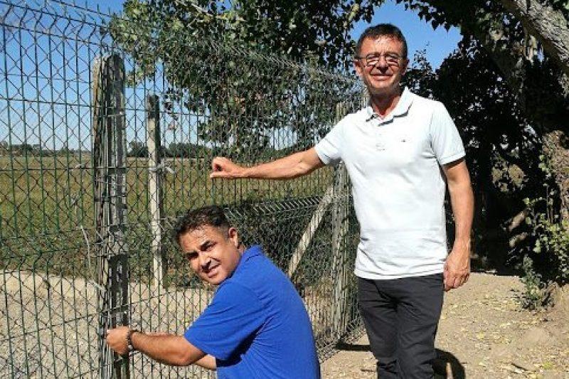 Joël Aviragnet a découvert les installations du refuge