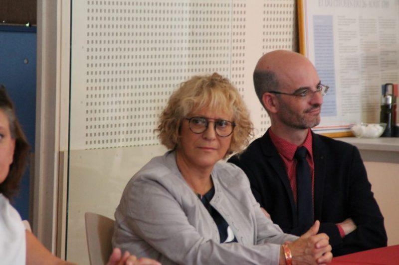Elisabeth Séré et Mr Montoya
