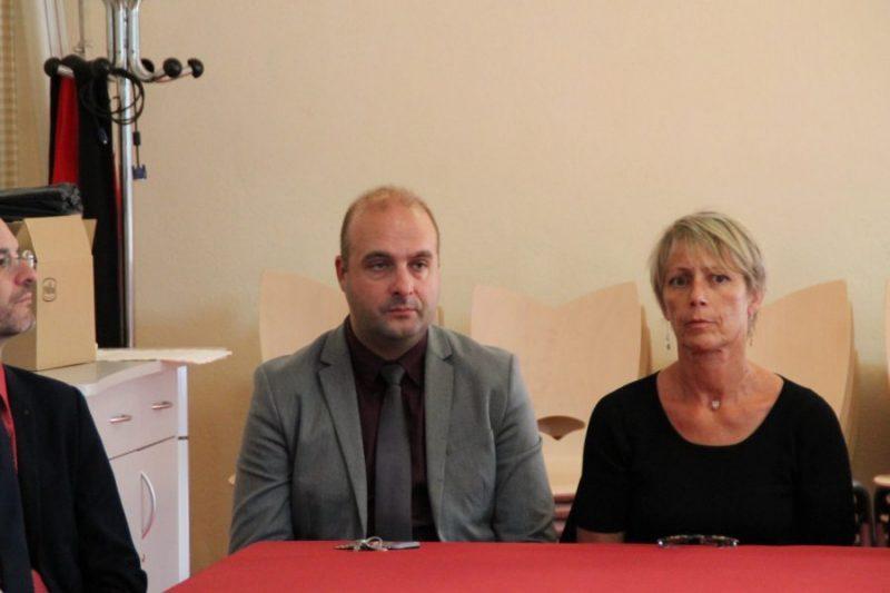 La principale Véronique Ferré et son nouvel adjoint Jean-Philippe Monteil