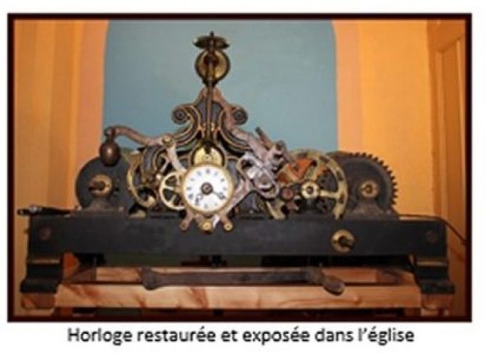 La remise en marche de l'horloge d'édifice de Saint-Hilaire