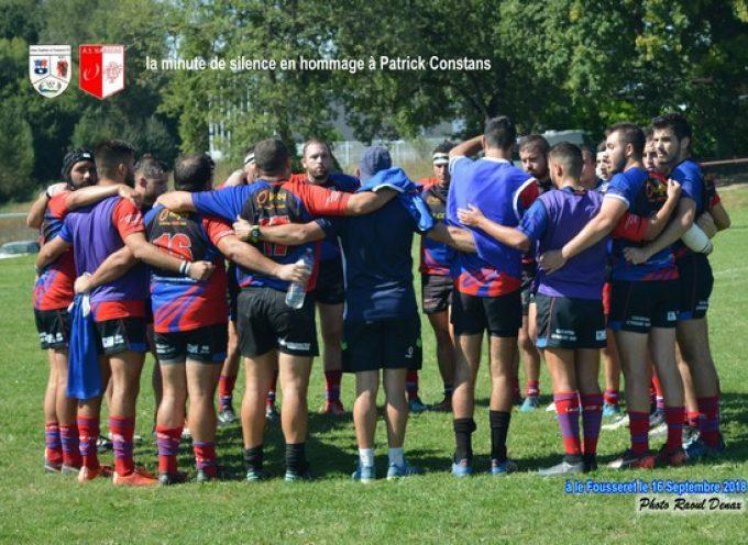 Rugby XV : L'UCF XV perd sur le Fil