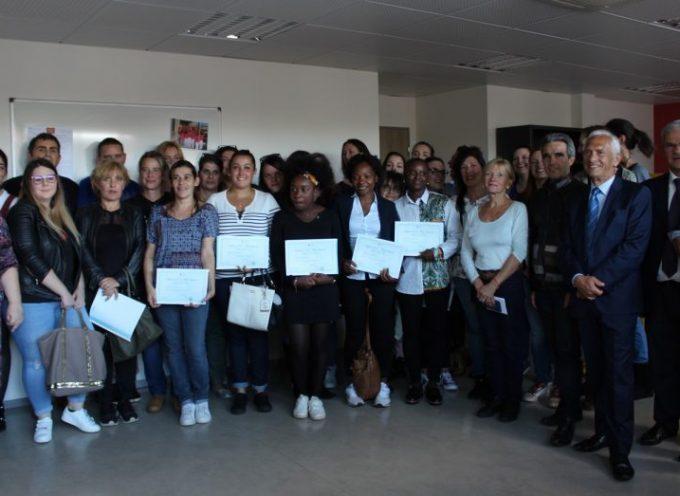 Remise des diplômes à l'IFAS de Saint-Gaudens