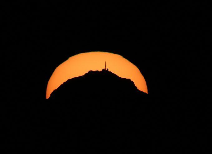 Quand le Soleil se couche derrière le Pic du Midi