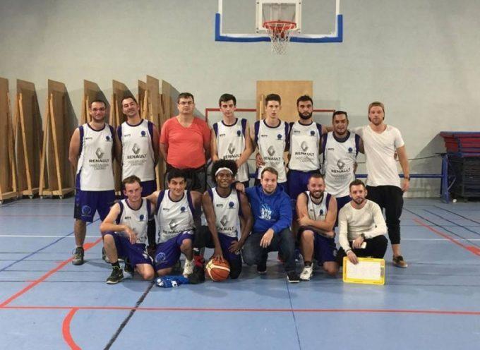 ASC Basket Cazères : Les séniors garçons s'imposent face à Aurignac
