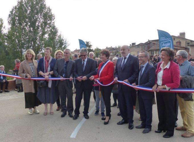 L'inauguration du pont Lajous à Rieux
