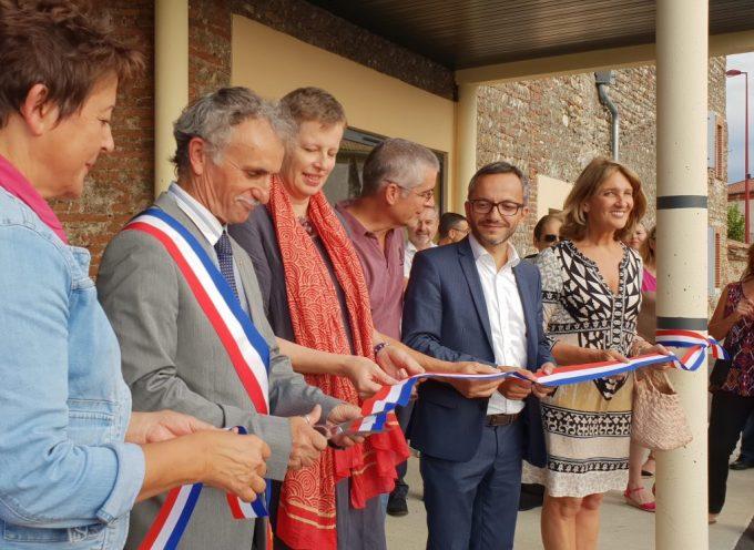 Saint Julien sur Garonne : Inauguration de la médiathèque/cantine/Alae