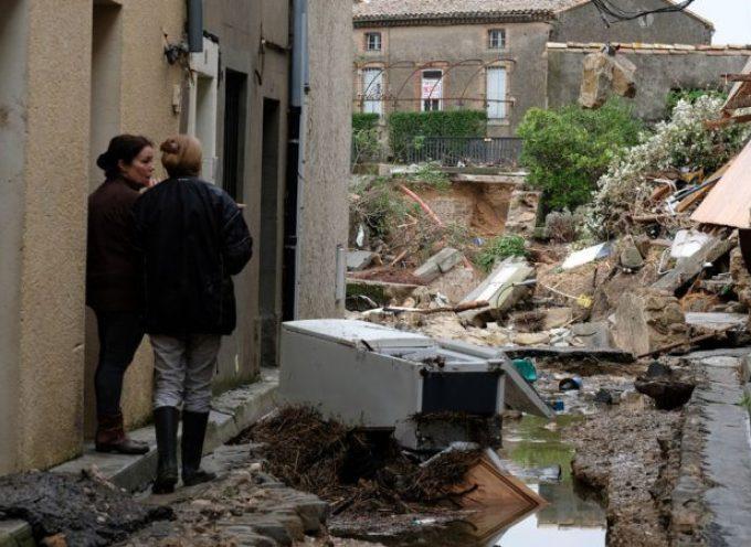 Les bonnes âmes en soutien aux sinistrés à Villegaihenc
