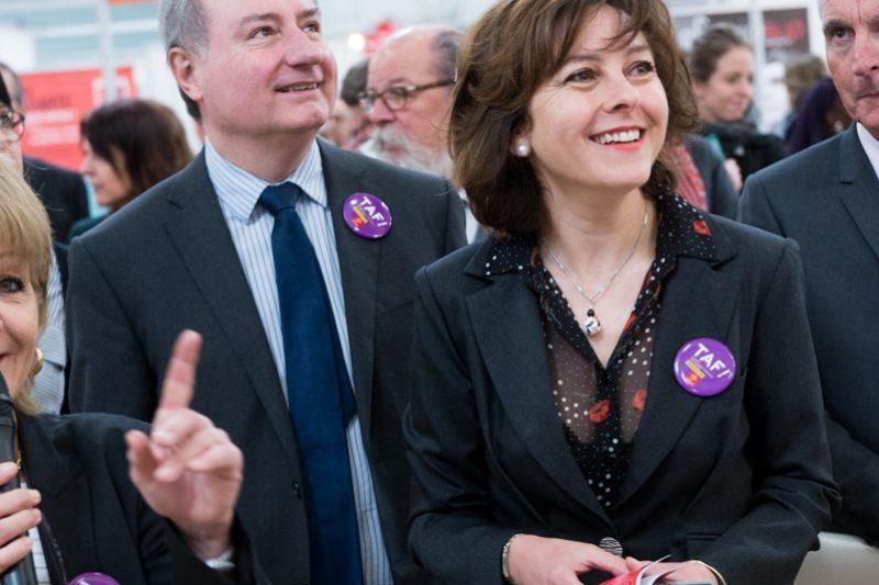 A l'occasion du TAF, Carole Delga promotion l'application Anie