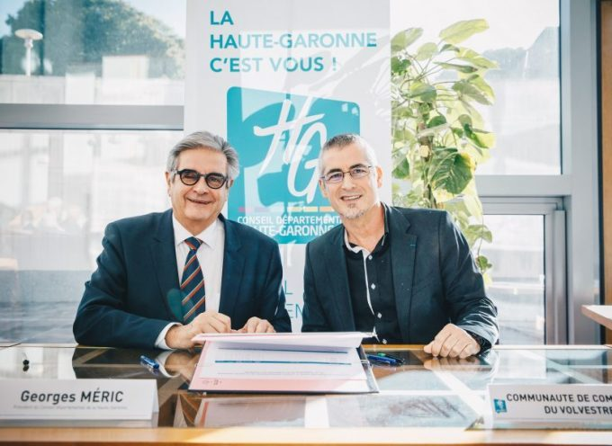 Signature des contrats de territoire avec la Communauté de communes du Volvestre