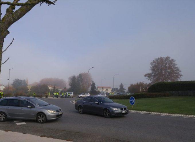 Gilets jaunes : Forte mobilisation à Carbonne!