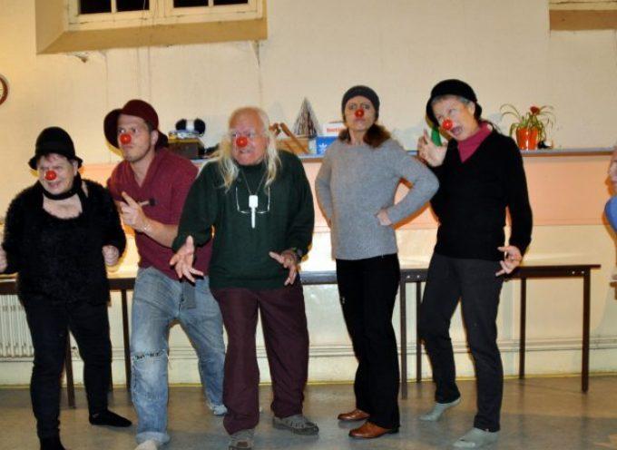 Atelier clown à la MJC de Montréjeau