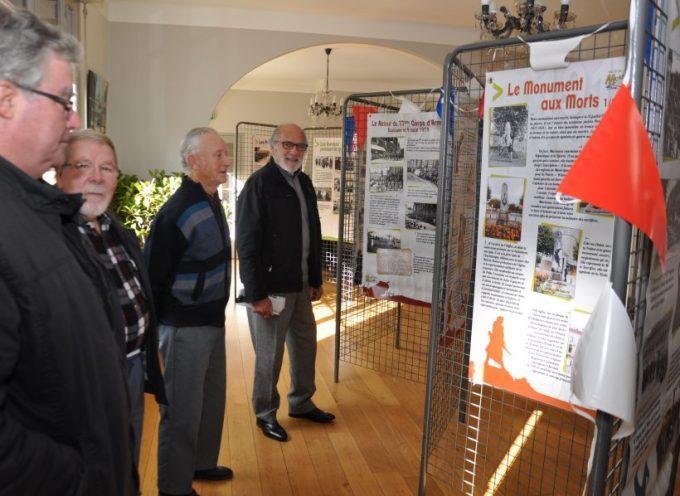 Exposition du centenaire de la grande guerre à Montréjeau