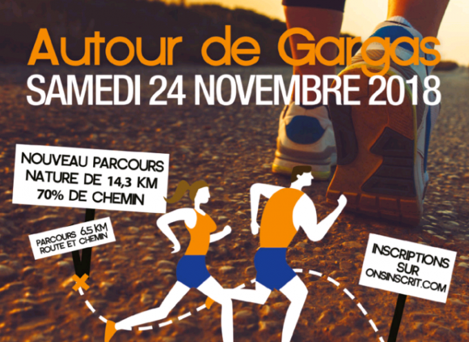 Course autour de Gargas Aventignan