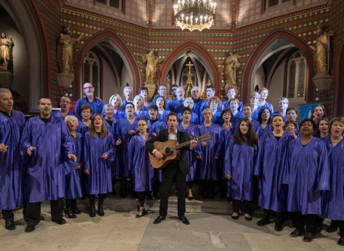 La chorale Comming'Gospel à Arbas