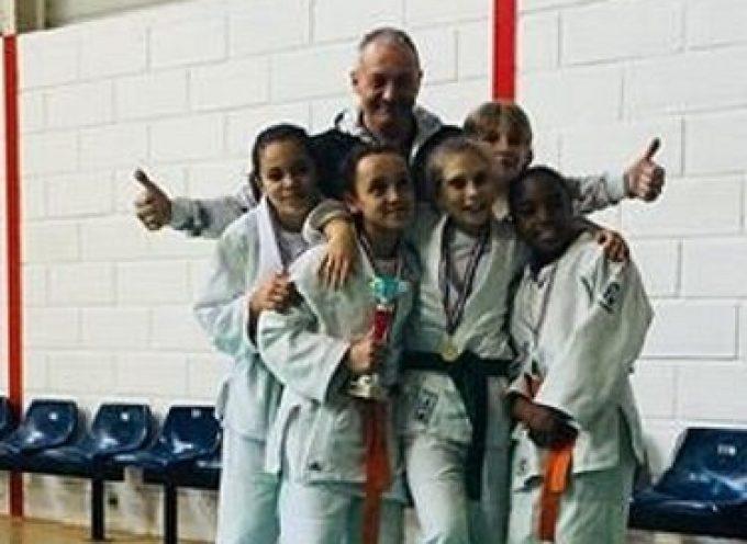 Judo Club Martrais : Les Benjamines sont Championnes d'Occitanie par équipe !