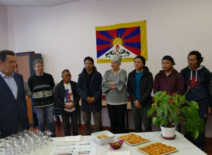 Des réfugiés politiques tibétains à Carbonne