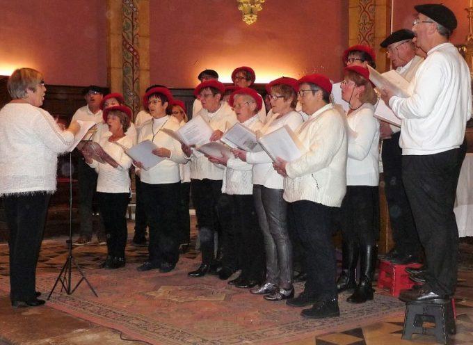 Les voix du Cagire en concert en l'Eglise de Valentine