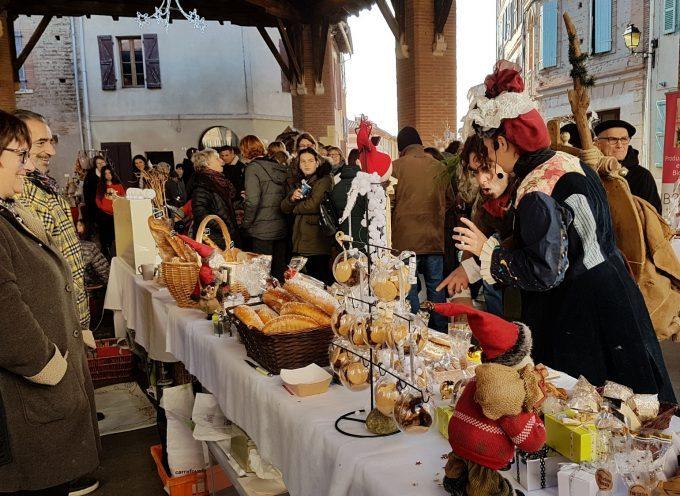 Rieux : Un marché de Noël dans une douceur automnale