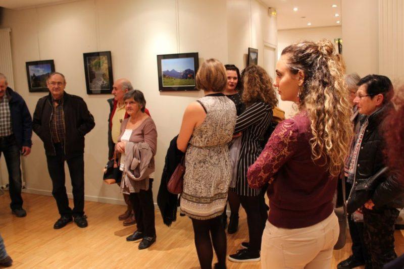 Vernissage de l'expo photo, l'appel des Pyrénées
