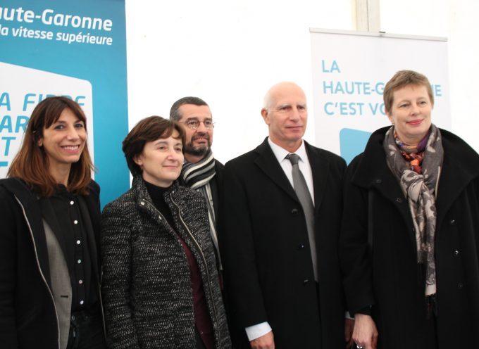 La fibre se déploie en Haute-Garonne