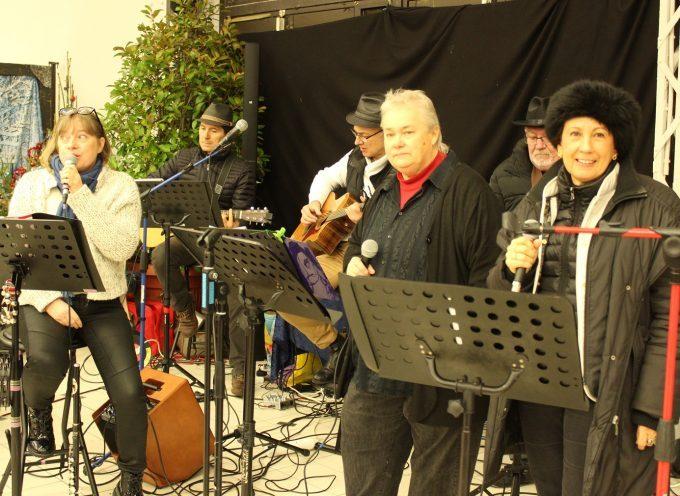 Saint-Gaudens : Inauguration du marché de Noël sous la grande halle