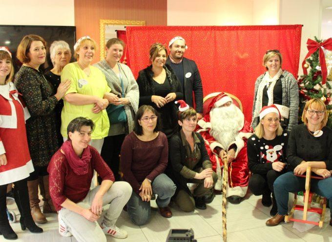 Noël à l'EHPAD Athéna de Villeneuve