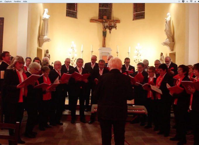 Landorthe : Une belle soirée avec la chorale de Couret