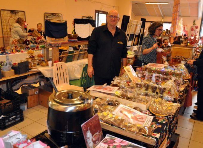 Belle réussite pour le marché de Noël de Ponlat-Taillebourg