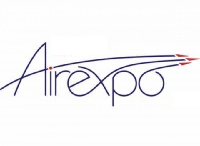 Créez l'affiche d'AirExpo 2019