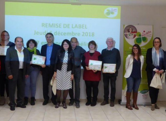 Eco-défis des artisans et commerçants labellisés!