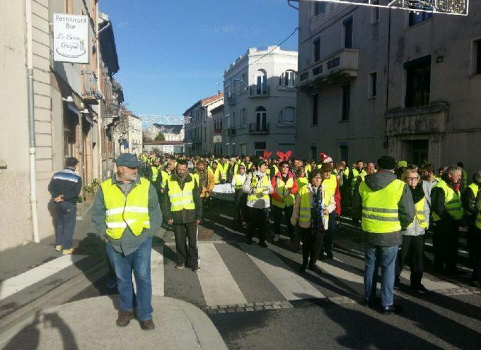Saint-Gaudens : Les gilets jaunes dans la rue samedi matin