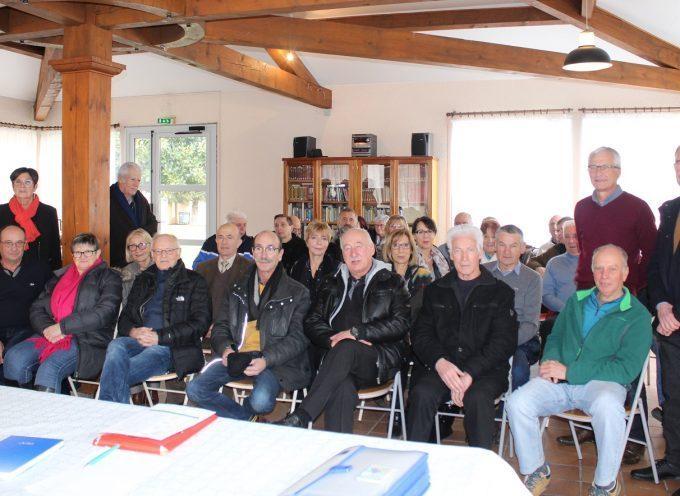 Association des retraités de la gendarmerie en Comminges en AG