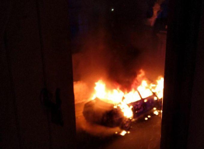 Voiture incendiée à Carbonne!