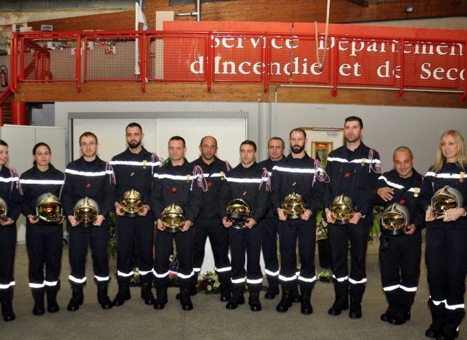 Montréjeau : La Sainte Barbe dignement fêtée