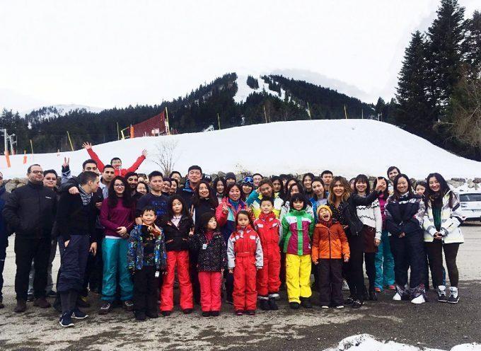 Les chinois, une nouvelle clientèle ski pour Luchon-Superbagnières et Le Mourtis