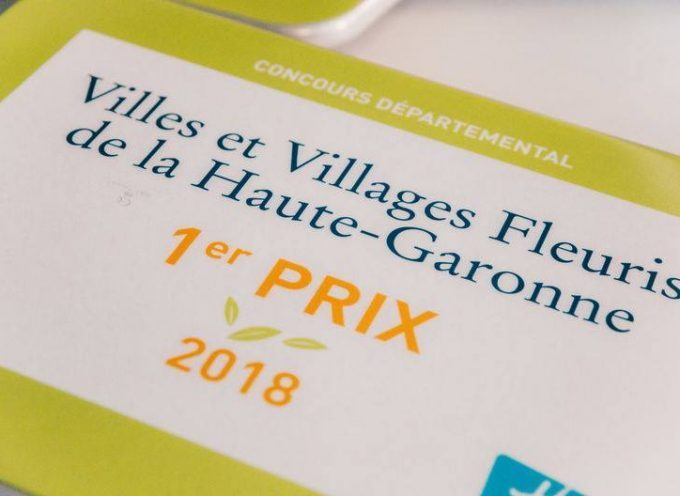 Concours villes et villages fleuris : La commune de Martres Tolosane primée !