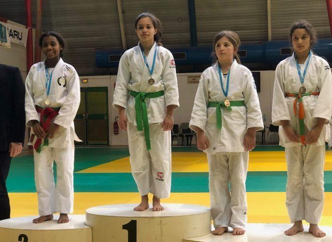 Judo Martrais : Anaïs Tussau championne de Haute-Garonne