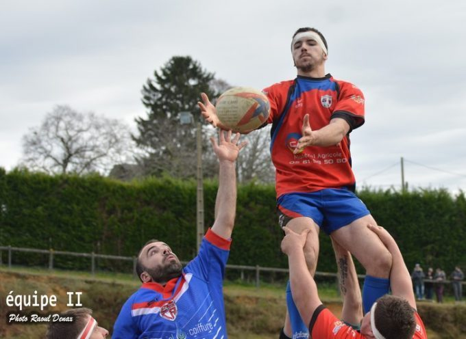 Rugby XV : L'UCF rate le coche