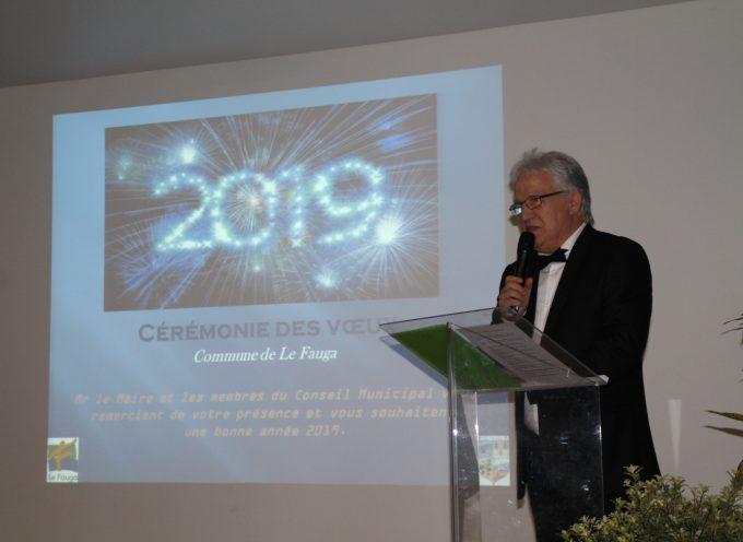 Le maire du Fauga présente ses vœux