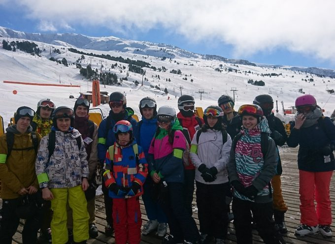 Séjour ski à Baqueira pour les ados
