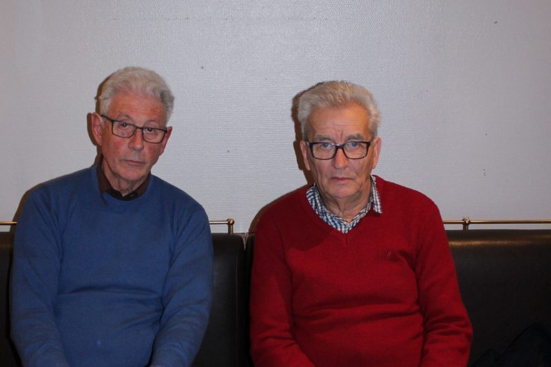 Michel Perez et Jules Estaran