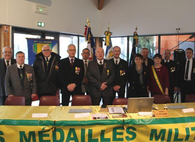 Saint-Gaudens : Assemblée Générale des Médaillés Militaires