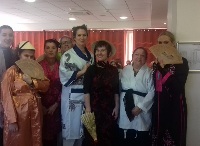 Nouvel an chinois à l'EHPAD Athéna de Villeneuve