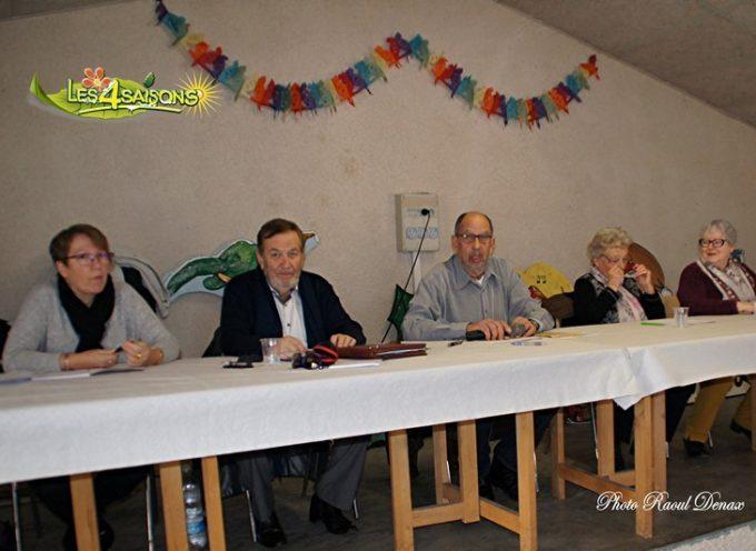 Le Fousseret : L'association des Quatre Saisons a tenu son AG
